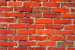 Fundo do tijolo vermelho Fotos de Stock Royalty Free