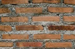Fundo do tijolo vermelho fotografia de stock royalty free