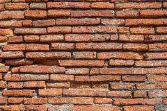 Fundo do tijolo vermelho com contraste alto Imagem de Stock Royalty Free