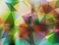 Fundo do triângulo ilustração royalty free