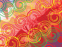 Fundo do Twirl Imagens de Stock