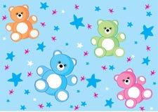 Fundo do urso Imagem de Stock Royalty Free