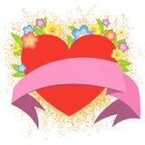 Fundo do Valentim Fotos de Stock