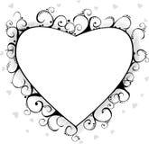Fundo do Valentim Foto de Stock