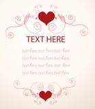 Fundo do Valentim Foto de Stock Royalty Free