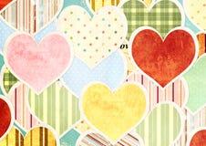 Fundo do Valentim Fotografia de Stock Royalty Free
