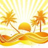Fundo do verão Imagem de Stock