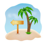 Fundo do verão Imagens de Stock