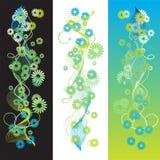 Fundo do verão, flor ilustração do vetor