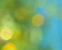 Fundo do verde azul - fotos conservadas em estoque Imagens de Stock Royalty Free