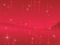 Fundo do vermelho do Glitter ilustração stock