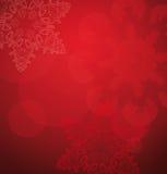 Fundo do vermelho do Natal Fotografia de Stock Royalty Free