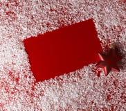 Fundo do vermelho do Natal Imagem de Stock Royalty Free