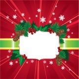 Fundo do vermelho do Natal abstrato e do ano novo ilustração royalty free