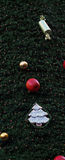 Fundo do vertical da árvore de Natal Imagem de Stock