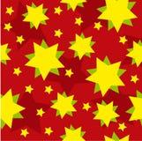Fundo do vetor com estrelas Imagens de Stock Royalty Free