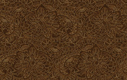 Fundo do vetor com laço floral Imagem de Stock