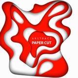 Fundo do vetor com papel japonês ou austríaco das cores da bandeira ilustração stock