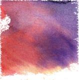 Fundo do vetor da aquarela Fotografia de Stock
