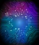 Fundo do vetor da placa de circuito Imagem de Stock Royalty Free