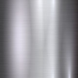 Fundo do vetor da textura do metal Foto de Stock