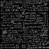 Fundo do vetor das matemáticas Foto de Stock