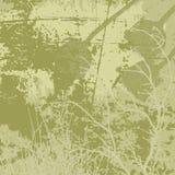 Fundo do vetor de Grunge em tons verde-oliva Imagens de Stock