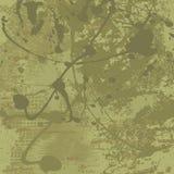 Fundo do vetor de Grunge em tons verde-oliva Imagem de Stock Royalty Free