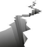 Fundo do vetor do terremoto Imagem de Stock