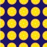 Fundo do vetor do teste padrão do limão retro Imagens de Stock