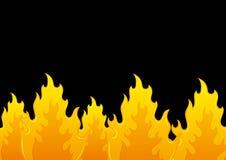 Fundo do vetor flama ilustração do vetor