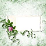 Fundo do Victorian com carimbar-frames Foto de Stock Royalty Free