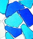 Fundo do vidro do mar Imagens de Stock