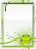 Fundo do vidro verde Ilustração Royalty Free