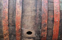 Fundo do vinho do tambor Imagem de Stock Royalty Free