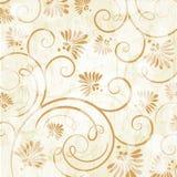 Fundo do vintage com flores ilustração royalty free