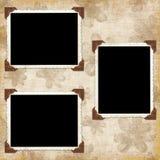 Fundo do vintage com frames Imagem de Stock Royalty Free