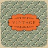 Fundo do vintage com teste padrão da escala. Imagem de Stock