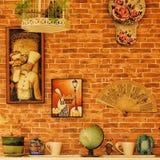 Fundo do vintage do papel de parede Fotografia de Stock