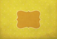 Fundo do vintage, estilo do às bolinhas Imagem de Stock