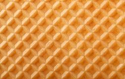 Fundo do Waffle Foto de Stock