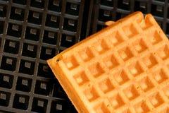 Fundo do Waffle Foto de Stock Royalty Free