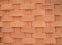 Fundo do Weave de cesta Imagens de Stock