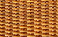 Fundo do Weave de cesta Foto de Stock Royalty Free
