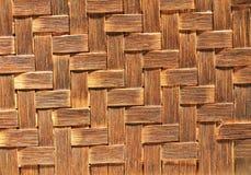 Fundo do Weave de cesta Fotografia de Stock Royalty Free