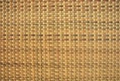 Fundo do weave do Rattan Imagem de Stock Royalty Free