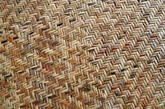 Fundo do weave do Rattan Fotos de Stock Royalty Free