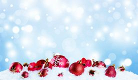 Fundo do Xmas Fotos de Stock Royalty Free