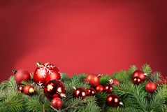 Fundo do Xmas Fotografia de Stock Royalty Free