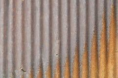Fundo do zinco, oxidação do grunge e textura oxidados do fundo da corrosão imagem de stock